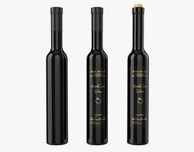 Wine bottle mockup 17 3D