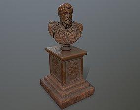 Marcus Aurelius 3D model game-ready