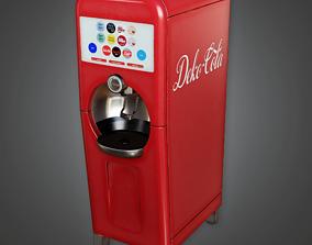 3D asset SAM - Soda Machine 02 - PBR Game Ready