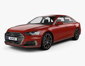 3D Audi A8 D5 2017