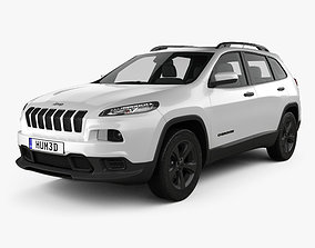 3D model Jeep Cherokee Limited 2017