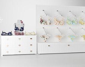 underwear boutique interior 3Dmodel