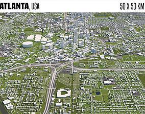 3D model Atlanta building
