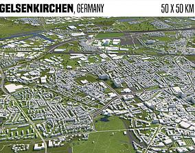 Gelsenkirchen Germany 3D