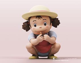Mei Kusakabe-My Neighbor Totoro 3D print model