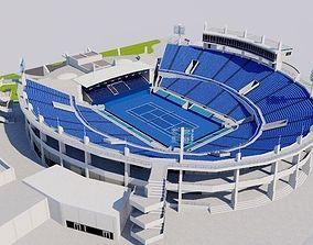 Abu Dhabi International Tennis 3D model VR / AR ready