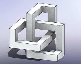 MC Escher Puzzle 3D printable model
