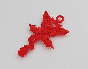 full metal alchemist pendant 3D print model