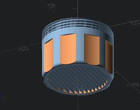 Laminar Flow Faucet Nozzle M20 3D printable model