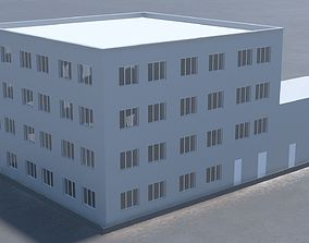 3D model Building office v8
