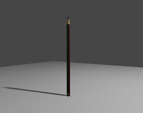 3D model VR / AR ready pencil PENCIL