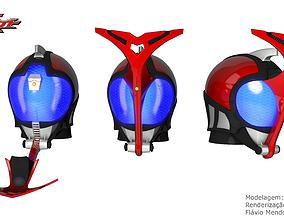 3D printable model Kamen Rider Kabuto