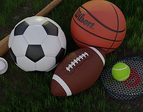 3D model PBR Sports Collection