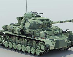 Panzer IV Tank Ausf G 3D