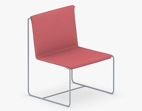 3D model game-ready 0582 - Chair