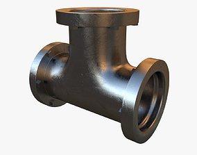 3D Steel T Pipe