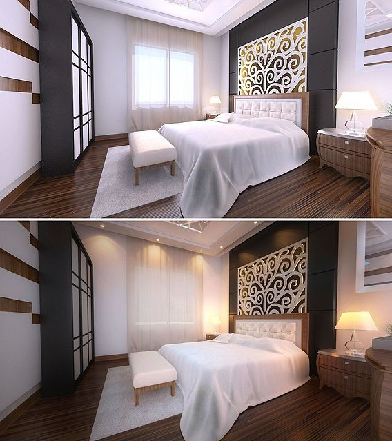 Architectural Interior 3D Visualization Services Miami, Florida for Modern Bedroom