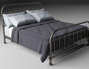 Iron bed 3D model design