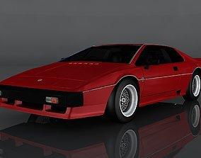 1980 Lotus Esprit 3D asset