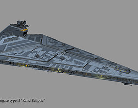 Imperial star frigate type ll Rand Ecliptic 3D