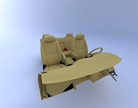 2000 Toyota Tundra Interior 3D model