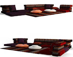 3D Mah Jong Furniture Rykiel
