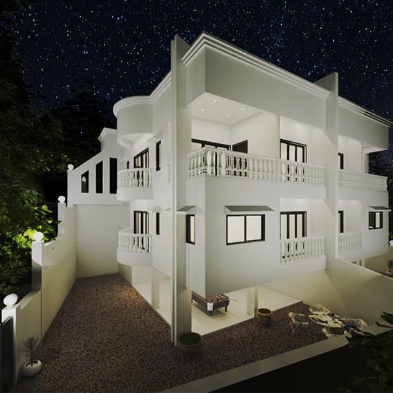 Lonavla Villa Max Render