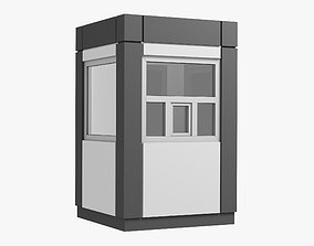 Security Booth 02 3D model