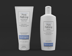 3D model Neutrogena Pore Refining Facial Cleanser