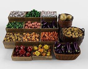 green 3D Vegetable set