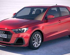3D model Audi A1 2019