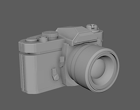 Nikon camera FM2 3D model