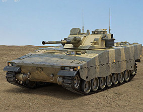 armor 3D Combat Vehicle 90