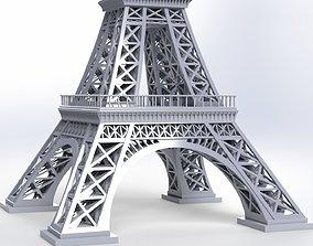 metalwork 3D Eiffel Tower