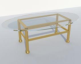 3D Coffee table coffee interior