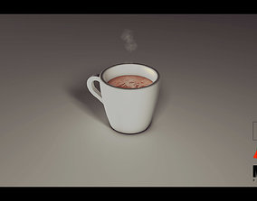 Cup Cacao-Taza De Chocolate 3D model