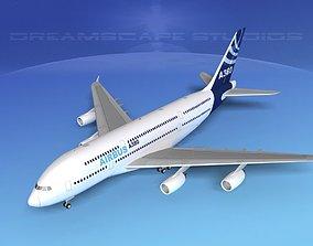 3D Airbus A380-800
