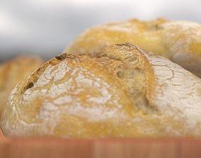 Bread - Bun other 3D model