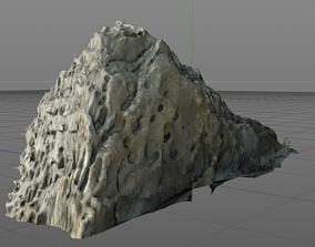 Porous rock 3D model