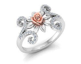 Rose Ring8 3D printable model