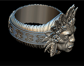 3D print model Indian ring