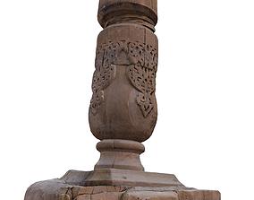 medieval architectural element 3D asset