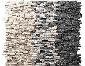 3D Brick rock stone decorative wall