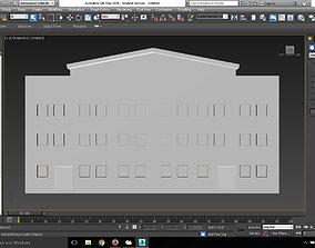 Simple House city 3D