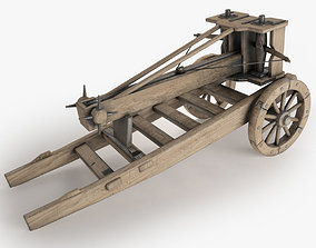 Ballista 3D model low-poly