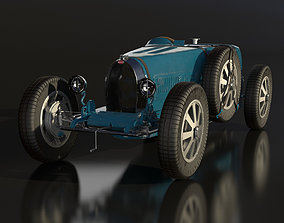 3D model Bugatti Type 35