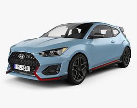 Hyundai Veloster N 2018 3D model
