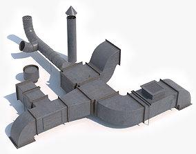 3D model Air Ventilation Duct 2