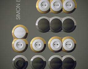 3D model Light Switch Simon 88 vol3