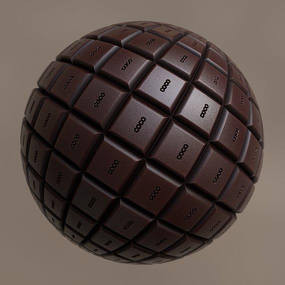 Chocolate Procedural Material